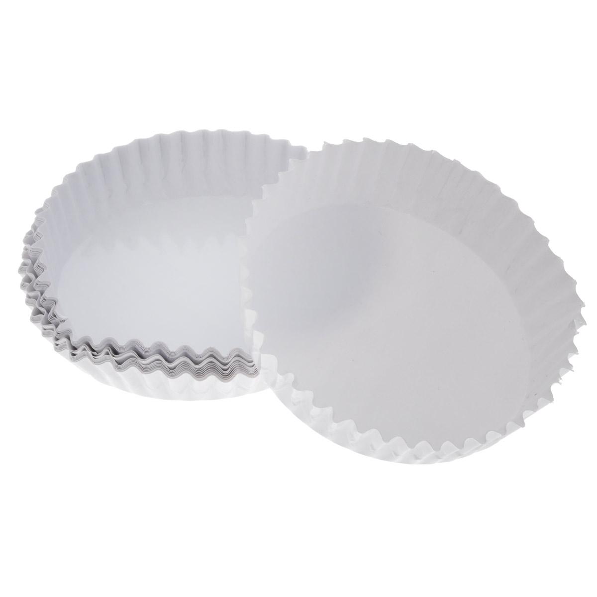 Набор бумажных форм для кексов Wilton, цвет: белый, диаметр 7 см, 18 шт
