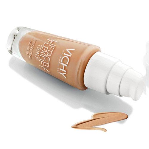 Vichy Крем тональный против морщин для всех типов кожи Liftactiv Flexilift Teint, тон 15 опаловый, 30 млM0329800Легко и равномерно наносится на кожу, обсеспечивая зрительный эффект лифтинга. Благодаря уникальной текстуре не скапливается в морщинах и не подчеркивает их. Без эффекта маски. В течение всего дня кожа выглядит более подтянутой, морщины незаметны, цвет лица однородный и сияющий. Содержит активный компонент для борьбы с морщинами. Через месяц количество морщин значительно уменьшается, кожа действительно выглядит помолодевшей.
