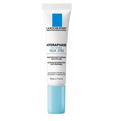 La Roche-Posay Увлажняющий крем-гель для контура глаз Hydraphase Интенс против «мешков» под глазами 15 млM2938500Формула этого крема обеспечивает интенсивное увлажнение и устранение мешков под глазами:- Фрагментированная гиалуроновая кислота усиливает клеточное сцепление для длительного удержания влаги в коже.- Кофеин оказывает противоотечное действие.Крем для век интенсивно увлажняет: 85%. Снимает отечность век: 62%. Разглаживает линии обезвоженности: 84%. Уменьшает темные круги подглазами: 64%.* * Протокол: клиническое исследование при участии 50 женщин, имеющих обезвоженную кожу вокруг и мешки под глазами, нанесениеHYDRAPHASE INTENSE для контура глаз 2 раза в день в течение 4 недель.