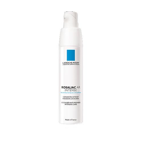 La Roche-Posay Интенсивная сыворотка для лица Rosaliac AR40 млM3295800Интенсивная сыворотка сочетает 3 активных компонента: амбофенол, нейросенсин, термальная вода La Roche-Posay. Эффективно уменьшает покраснения, воздействуя на их причину, предотвращая их повторное появление. При курсовом применении (4 недели) выравнивает тон кожи и укрепляет сосуды.Амбофенол, мощный природный экстракт, богатый полифенолами, сужает кровеносные сосуды и укрепляет их стенки. Нейросенсин эффективно снижает выраженность видимых покраснений.Термальная вода La Roche-Posay оказывает антиоксидантное, защитное и успокаивающее действия.