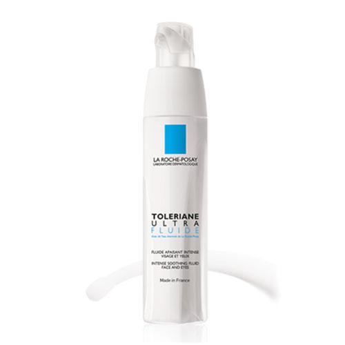 La Roche-Posay Флюид для лица Toleriane Ультра 40 млM8564300Флюид Толеран Ультра снижает реактивность кожи и дарит ощущение комфорта. Уникальная формула содержит Нейросенсин-молекулу, которая уменьшает раздражение и успокаивает кожу, и Термальную воду La Roche-Posay- природный компонент, обладающий смягчающим и защитным действием. Герметичная упаковка нового поколения позволила создать средство с минимальным числом компонентов, избегая добавления консервантов и парабенов. Специальная герметичная капсула внутри флакона препятствует контакту с внешней средой, проникновению бактерий, а также позволяет использовать средство практически на 100%,без остатка.