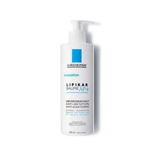 La Roche-Posay Липидовосстанавливающий бальзам для лица и тела Lipikar АП+ 400 млM9129000Липидовосстанавливающий бальзам разработан для кожи, склонной к атопии или аллергческим реакциям. Увеличивает время между обострениями симптомов атопии. Эффективно уменьшает сухость, зуд и раздражение, моментально успокаивает и смягчает кожу. После использования кожа мягкая и нежная. Для младенцев, детей и взрослых.Содержит Aqua Posae Filiformis, эксклюзивный запатентованный активный компонент- восстанавливает и нормализует баланс микробиома кожи [+] - восстанавливает и укрепляет кожный барьерСпециально разработанная формула содержит активные компоненты, отобранные благодаря их эффективности и безопасности.