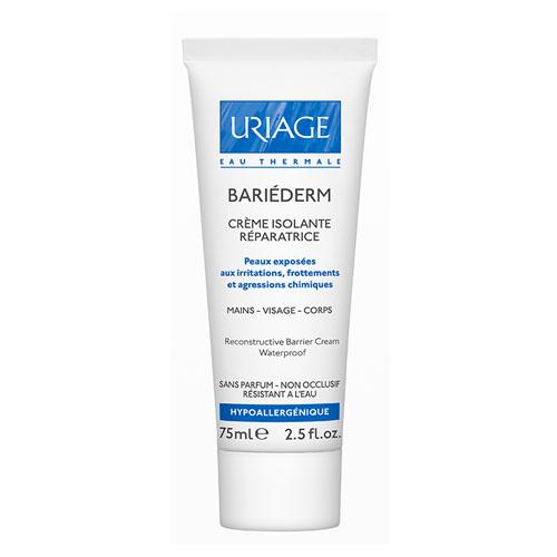 Uriage Изолирующий восстанавливающий крем для тела Bariederm 75 мл крем uriage bariederm insulating repairing hand cream 50 мл