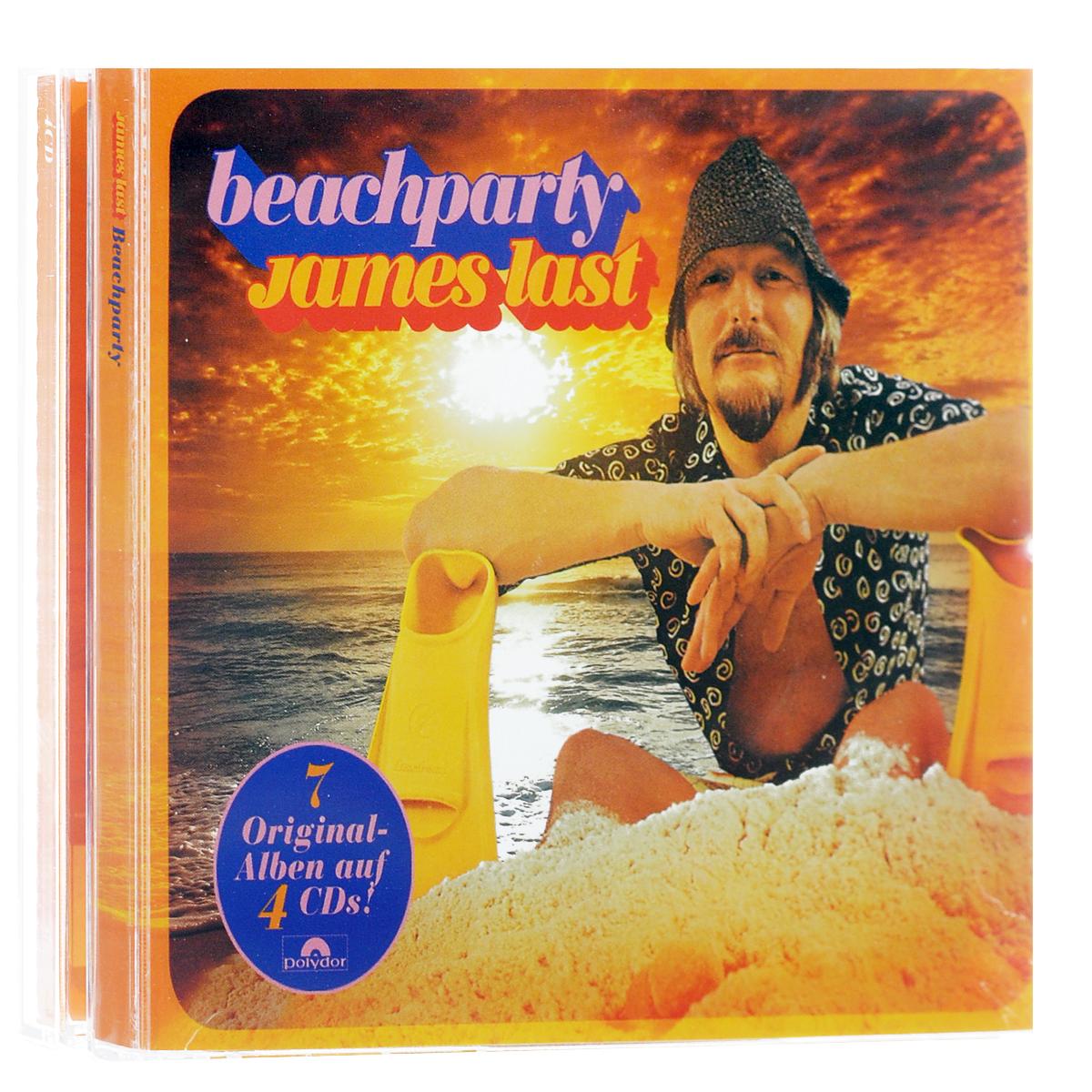 Джеймс Ласт James Last. Beachparty (4 CD) джеймс ласт james last 80 greatest hits 3 cd