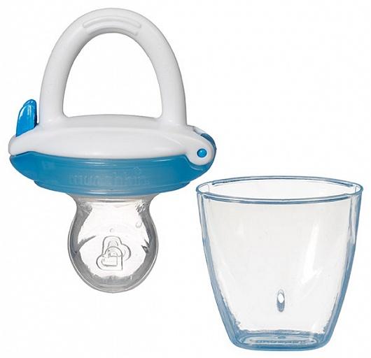 Munchkin ниблер для детского питания 4+, цвет: голубой