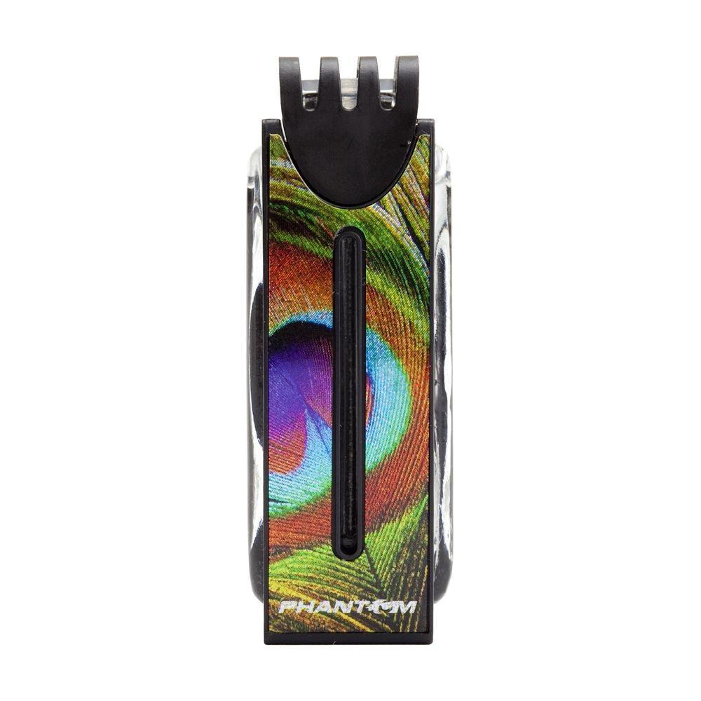 Ароматизатор Phantom Modern, морокко3536Яркий современный дизайн, необычные голографические нанесения и изысканные парфюмерные композиции делают эту серию поистине уникальной! Ароматы созданы на парфюмерном заводе в Тайване на основе натуральных ингредиентов. Срок службы более 50 дней. Ароматизатор предназначен для размещения на решетке воздухообдува. Объем - 7мл. пластик, стекло, жидкий ароматизатор
