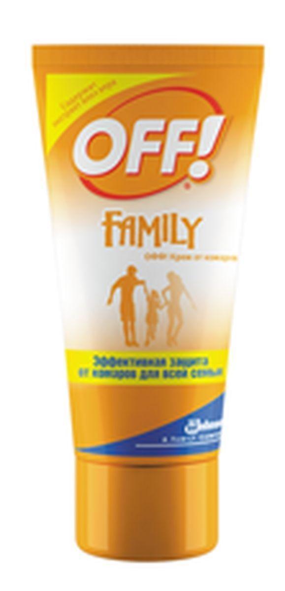 Крем от комаров ОFF!, 50 мл636791Безопасно и эффективно отпугивает комаров, мошек и других кровососущих насекомых. Обеспечивает защиту в течение 2х часов. Имеет приятных запах. Разрешено к применению детям с 3х лет. Экстракт алоэ вера, который содержится в креме, увлажняет кожу и делает ее более мягкой.