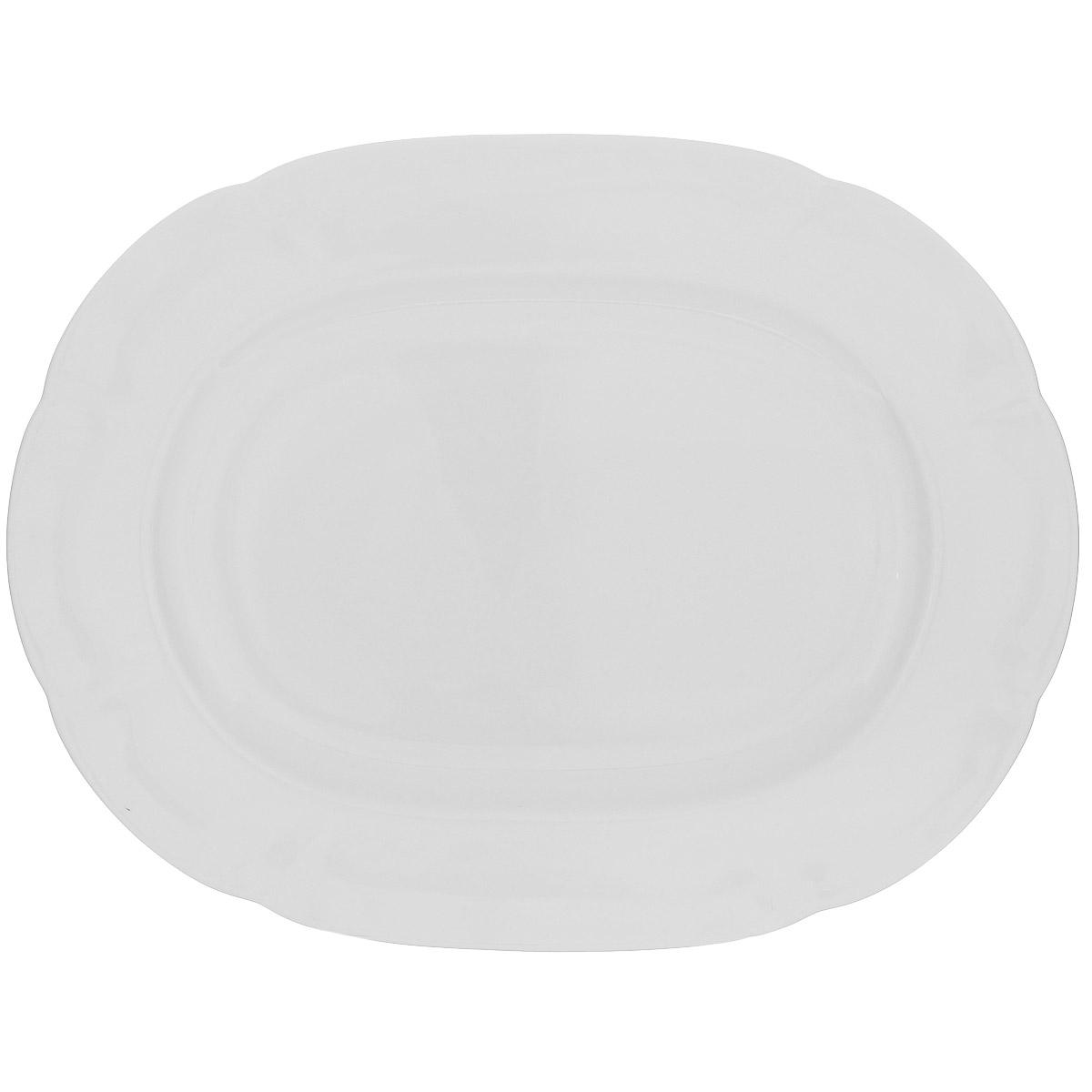 Блюдо Royal Bone China White, 32 х 25 см