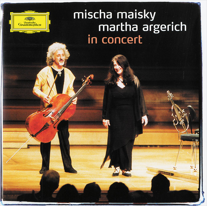 Миша Майский,Марта Аргерих Mischa Maisky / Martha Argerich. In Concert миша майский franz schubert songs without words mischa maisky daria hovora