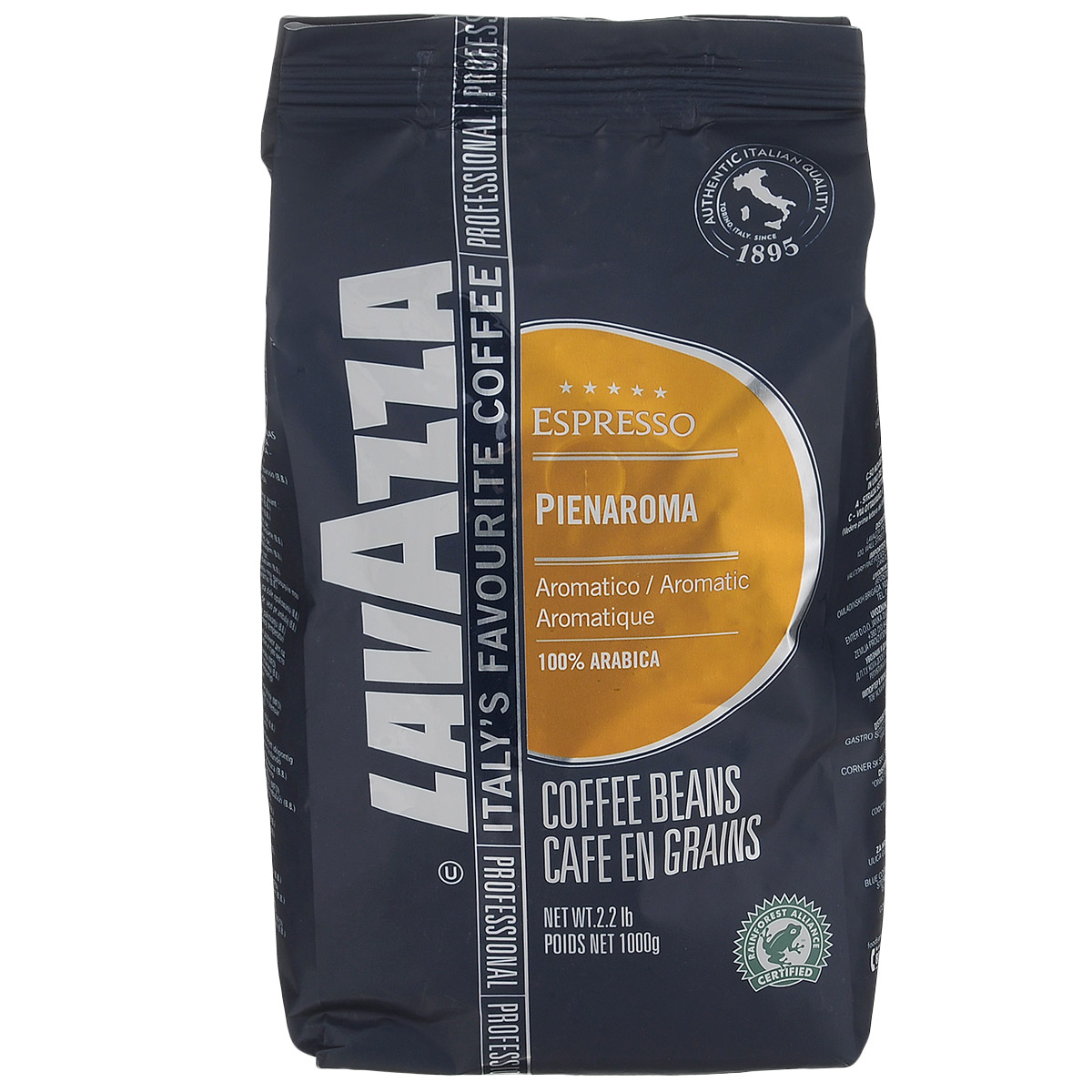 Lavazza Pienaroma кофе в зернах, 1 кг кофе в зернах lavazza 3590 rossa 1кг