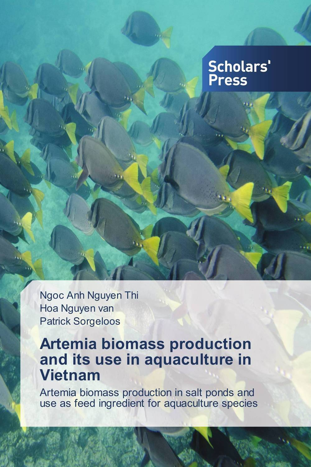 Artemia biomass production and its use in aquaculture in Vietnam adding value to the citrus pulp by enzyme biotechnology production