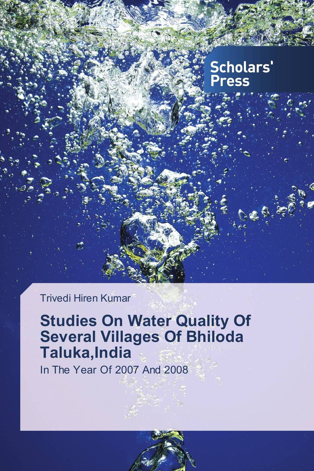 Studies On Water Quality Of Several Villages Of Bhiloda Taluka,India surface and ground water interaction