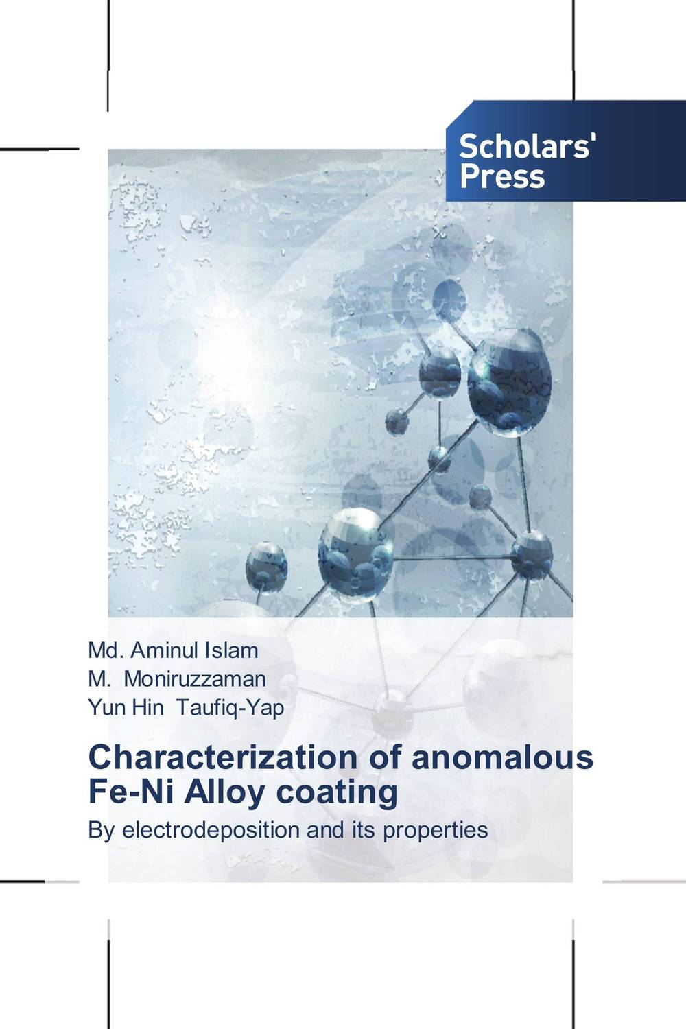 Characterization of anomalous Fe-Ni Alloy coating emote alloy