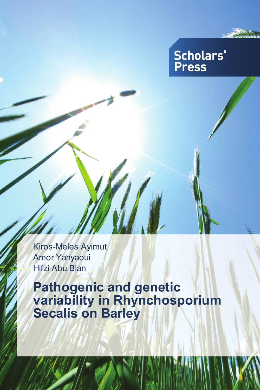 Pathogenic and genetic variability in Rhynchosporium Secalis on Barley butterflies in the barley
