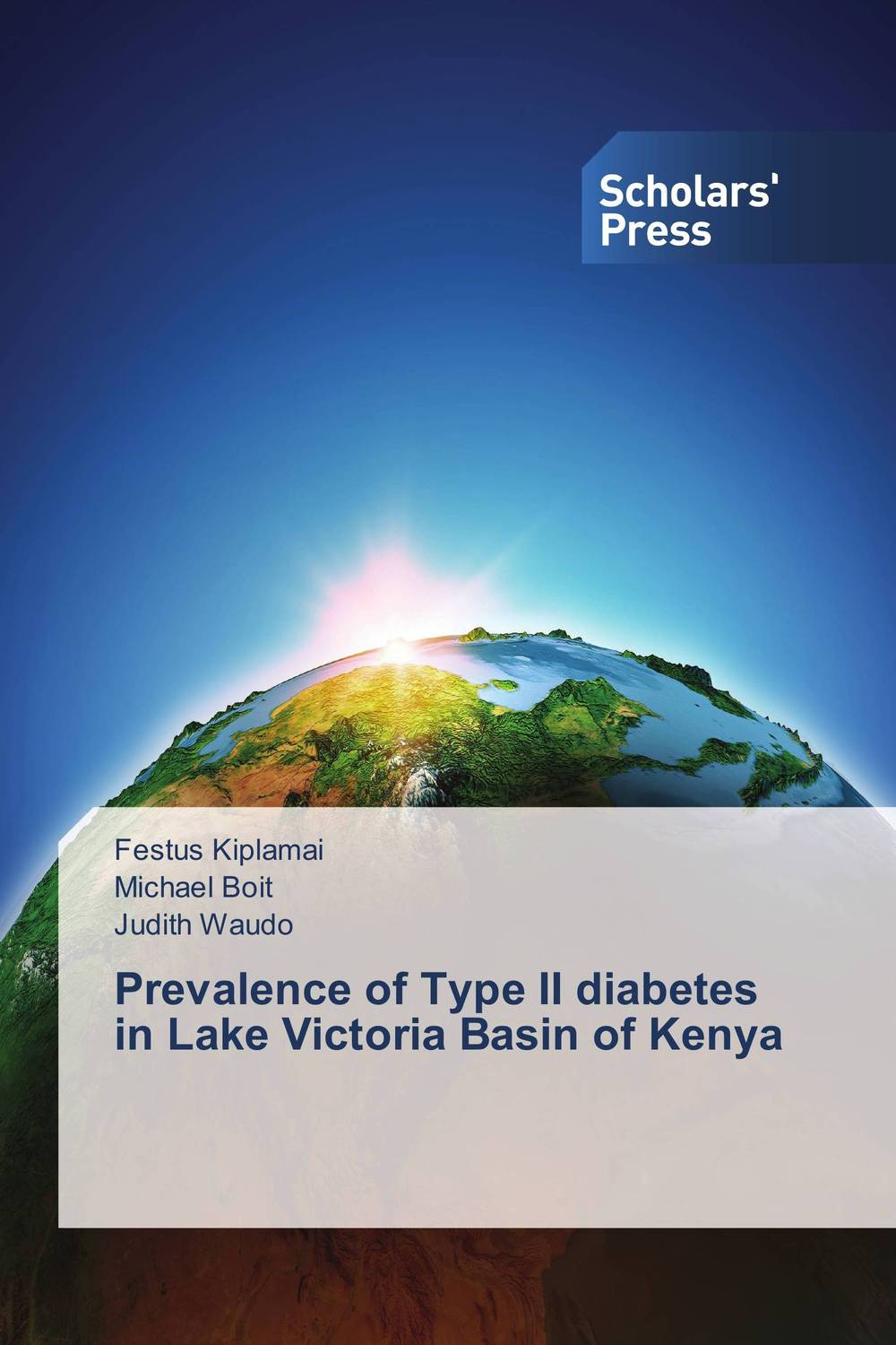 Prevalence of Type II diabetes in Lake Victoria Basin of Kenya week at the lake