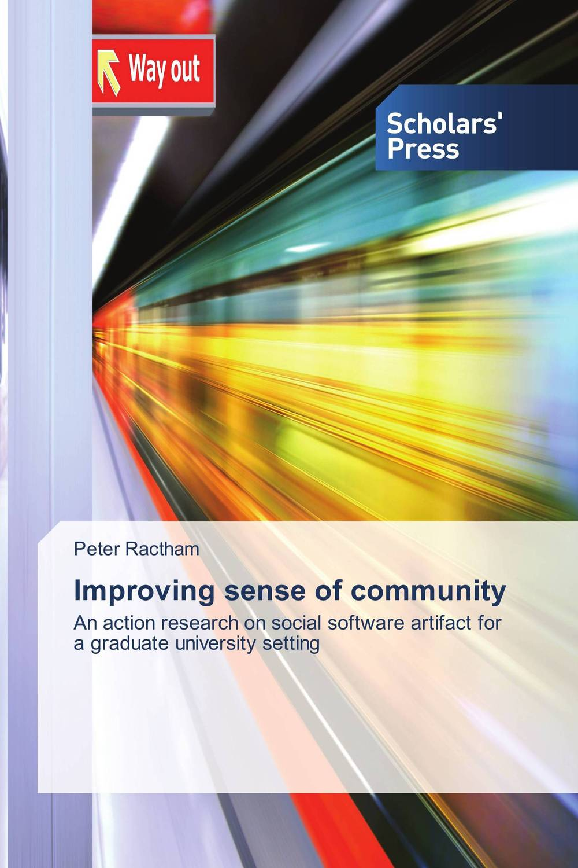 Improving sense of community administrator