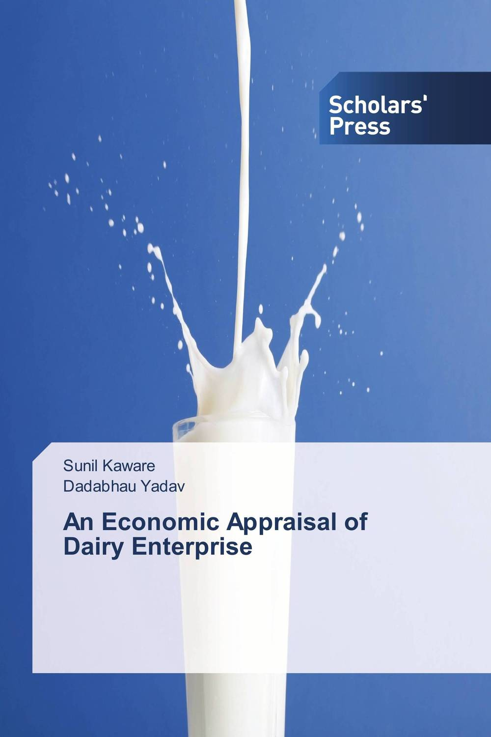 An Economic Appraisal of Dairy Enterprise the operative