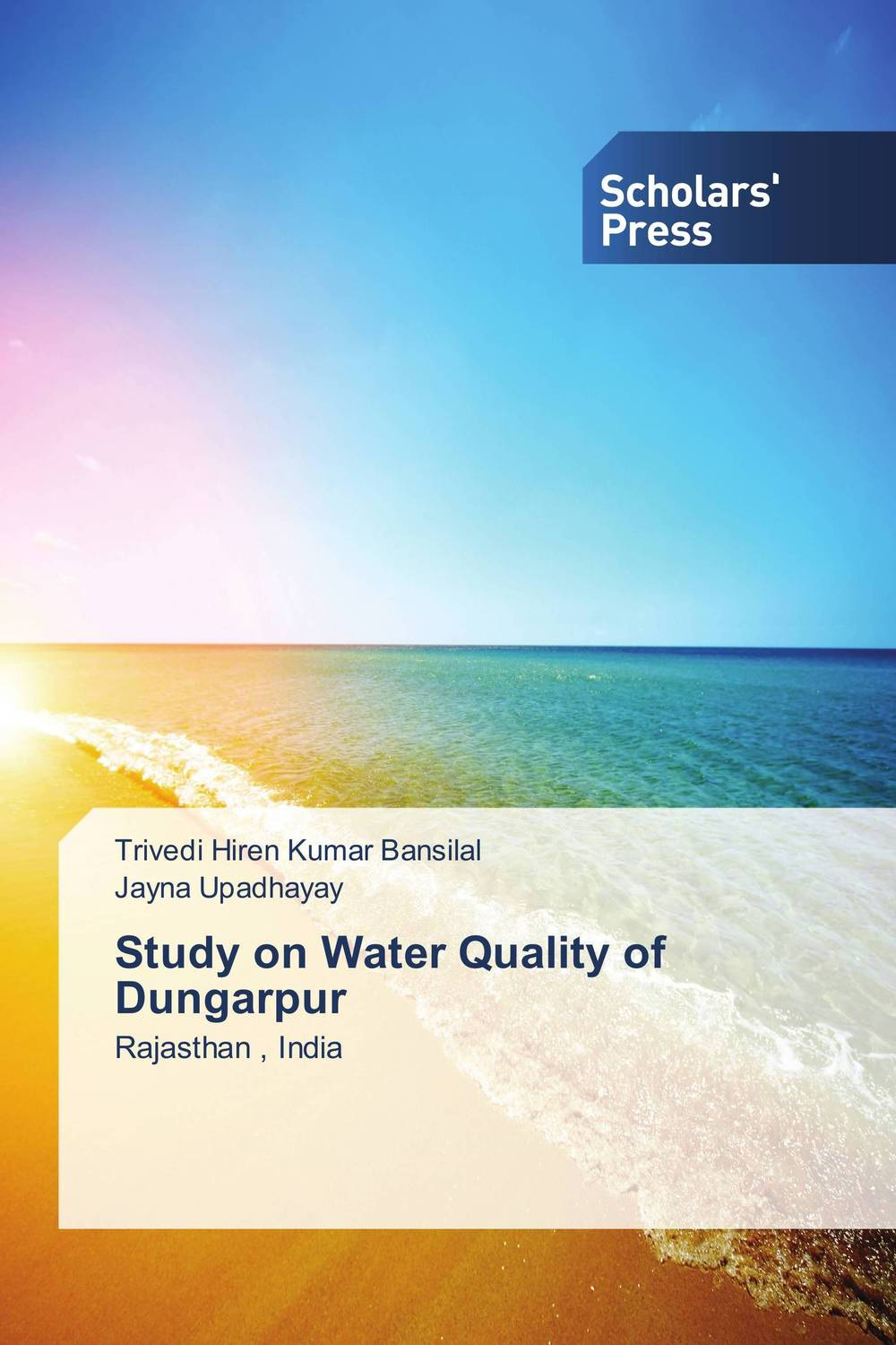 Study on Water Quality of Dungarpur bride of the water god v 3