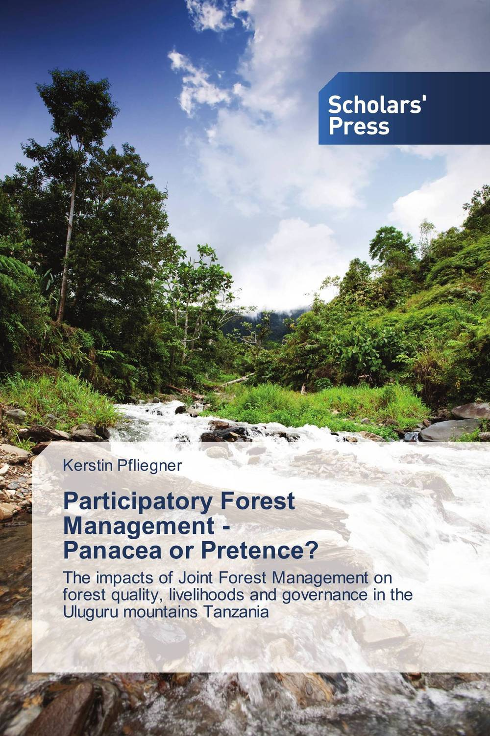Participatory Forest Management -   Panacea or Pretence? surendra kumar rai rajesh d pandya and sumit r salunkhe participatory irrigation management