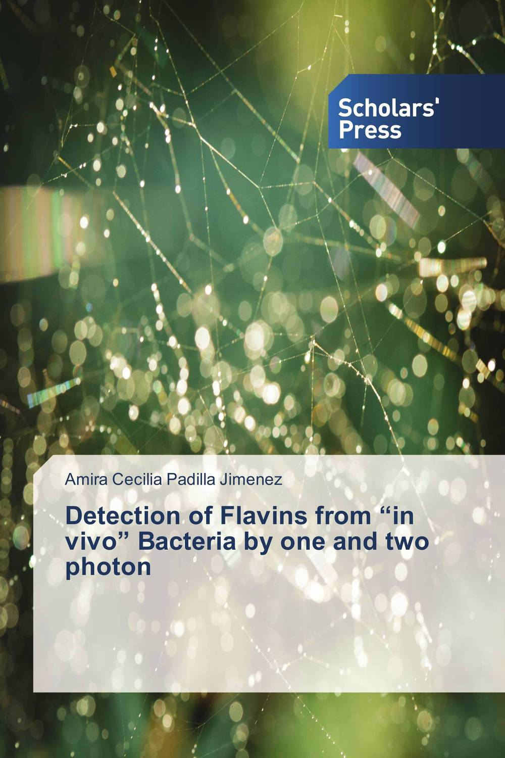 "Detection of Flavins from ""in vivo"" Bacteria by one and two photon edge finder in order to accurately determine the location of the center of a detection tool workpiece touch point sensor for cnc"