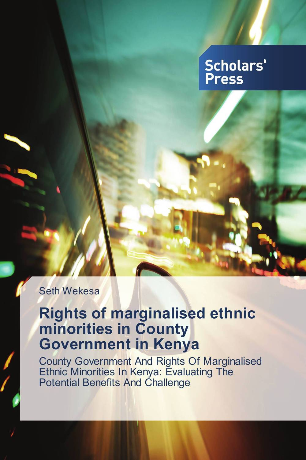 Rights of marginalised ethnic minorities in County Government in Kenya the church of god and education in vihiga county kenya 1938 1989