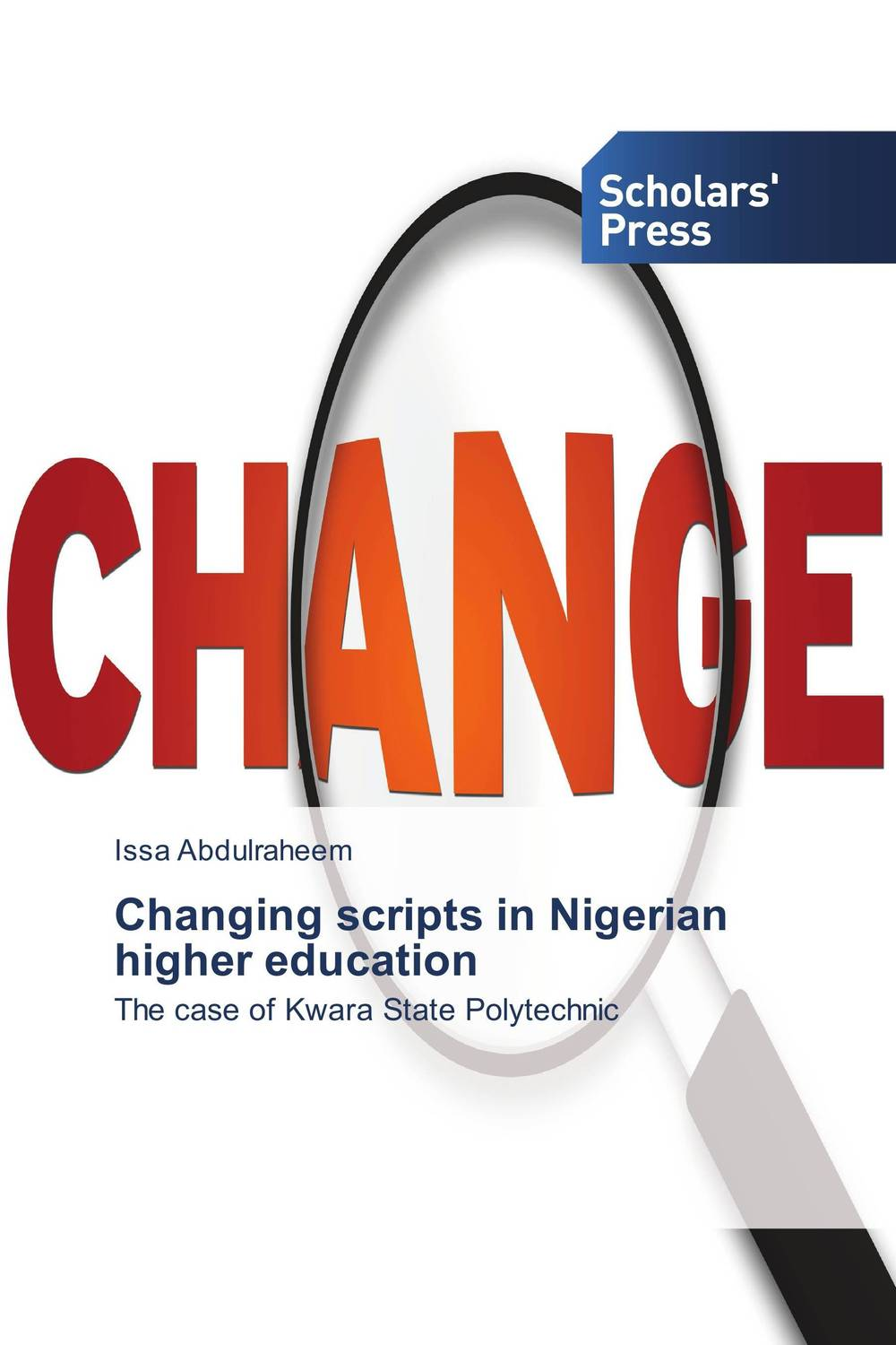 Changing scripts in Nigerian higher education scripts