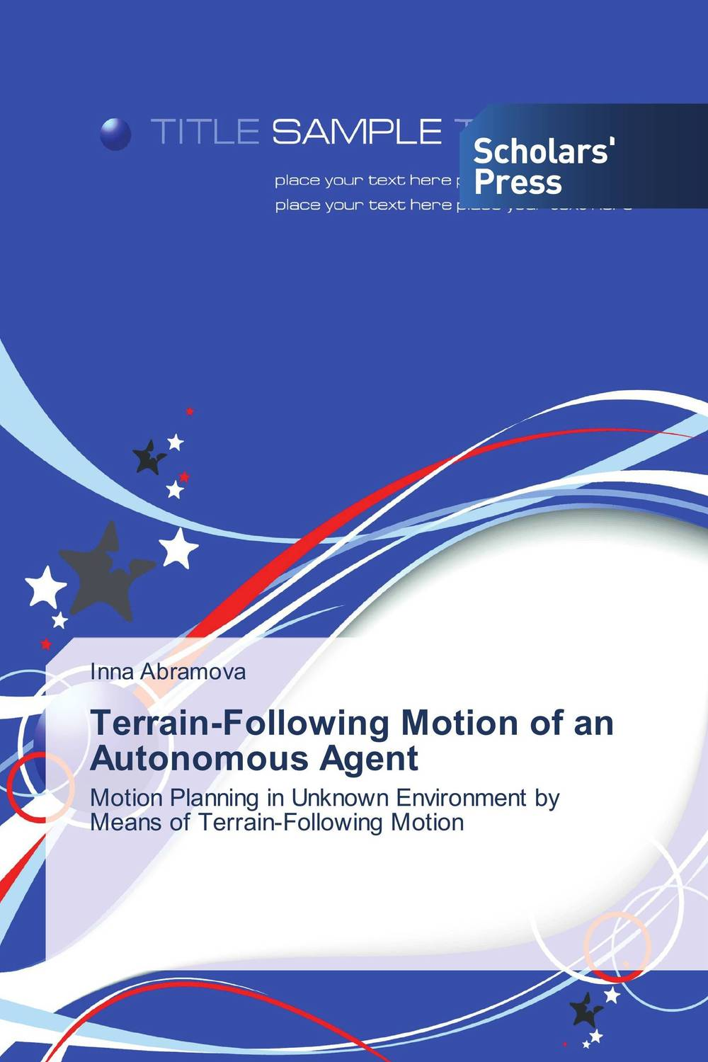 Terrain-Following Motion of an Autonomous Agent optimized–motion planning