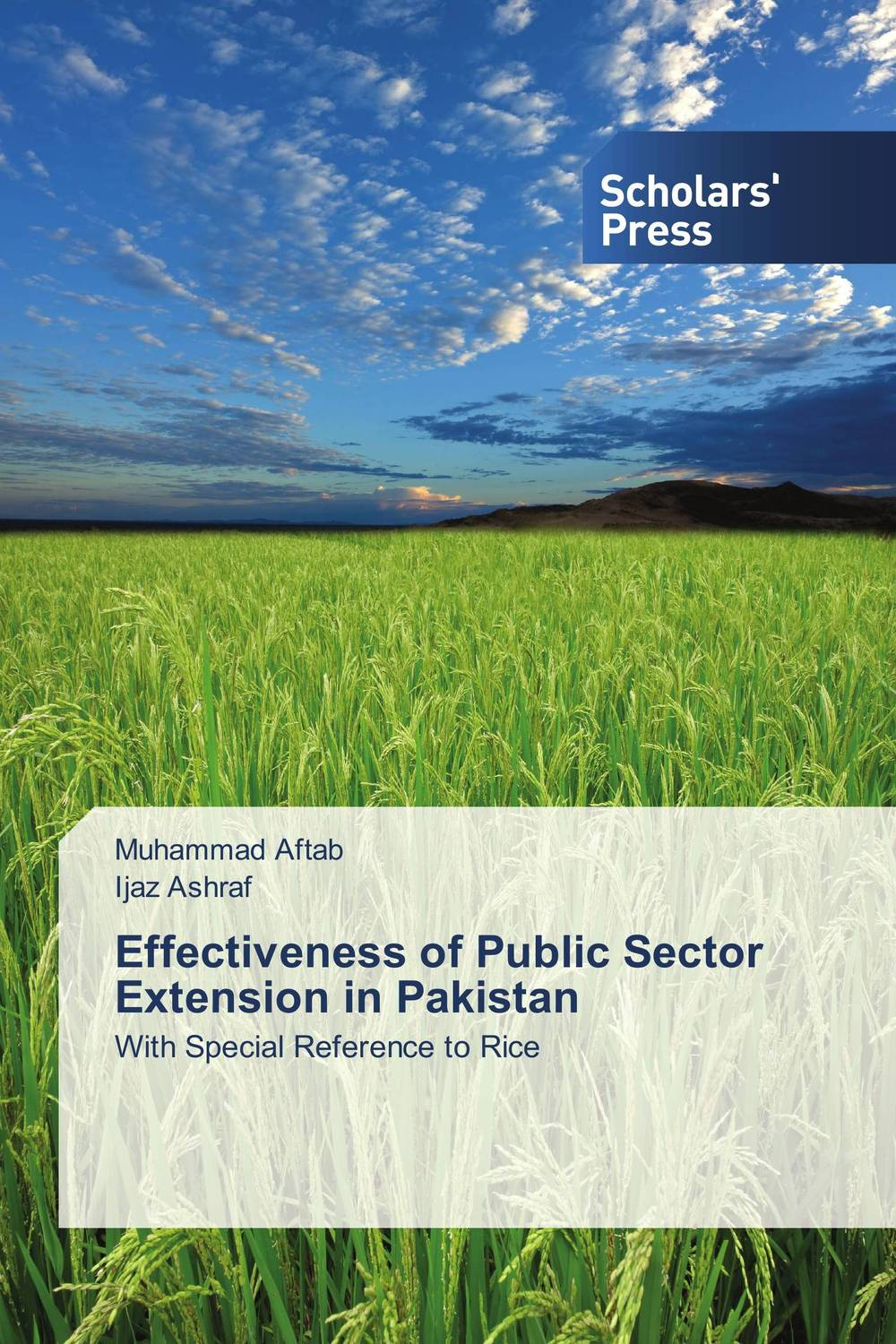 Effectiveness of Public Sector Extension in Pakistan