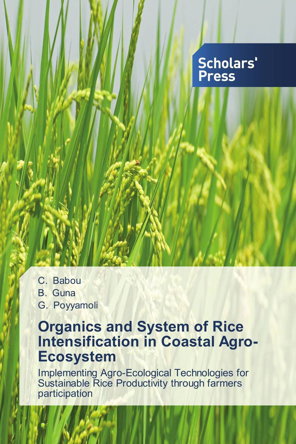 Organics and System of Rice Intensification in Coastal Agro-Ecosystem muhammad zaheer khan and babar hussain reptiles of coastal areas of karachi