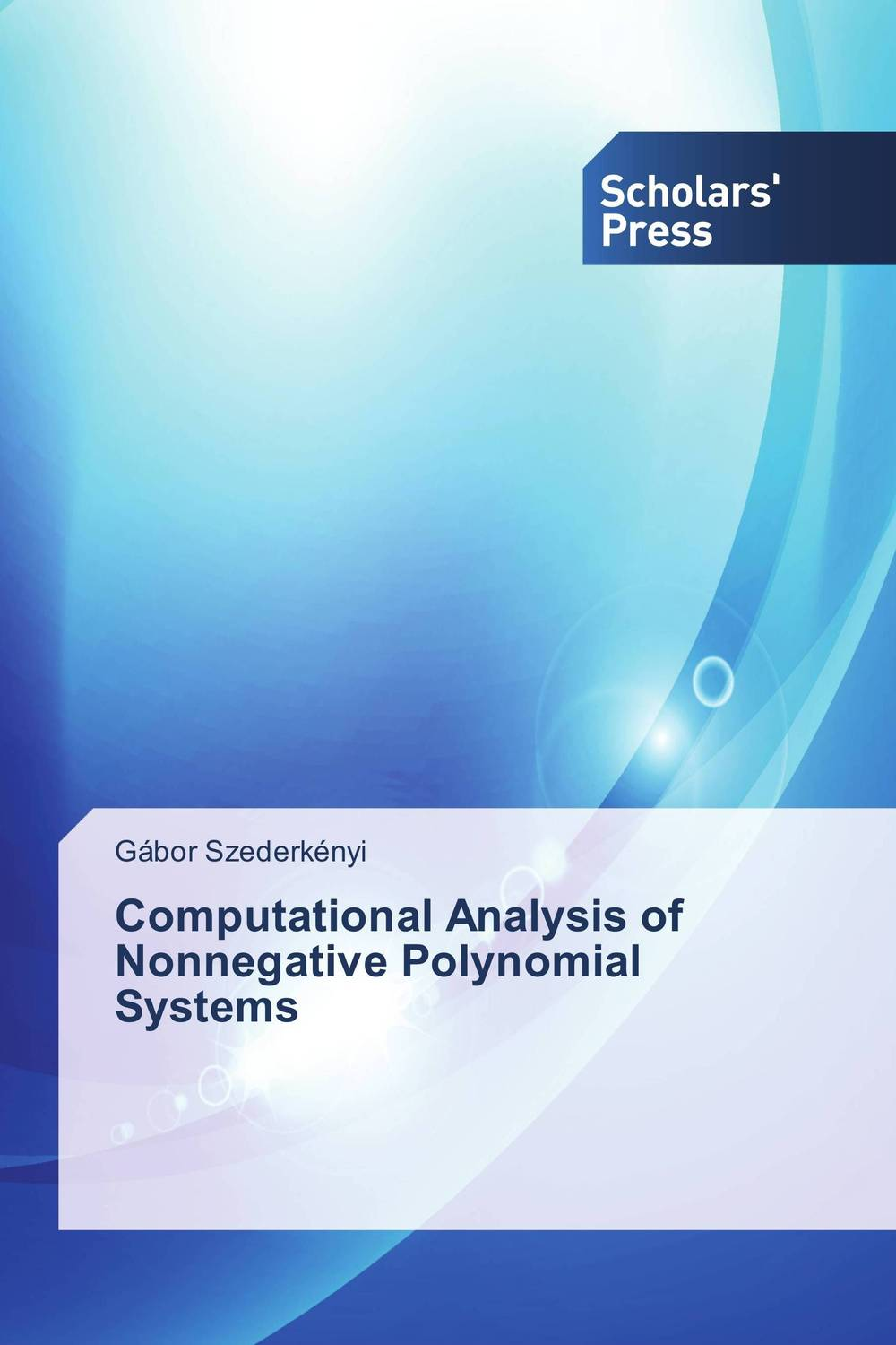 Computational Analysis of Nonnegative Polynomial Systems affair of state an