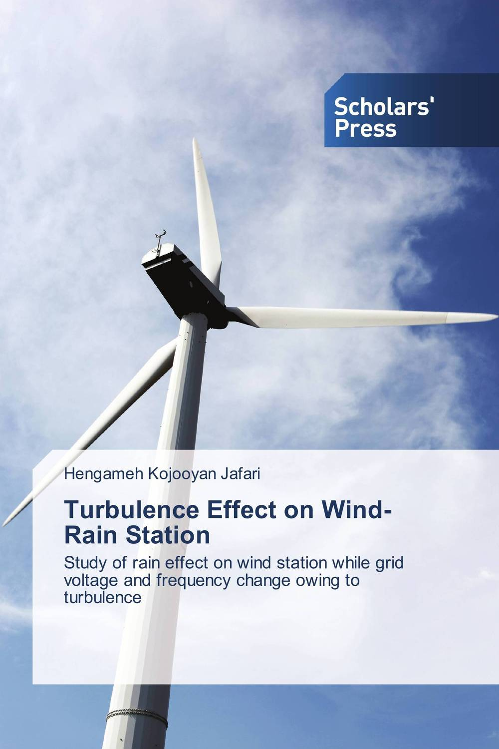 Turbulence Effect on Wind-Rain Station wind of promise