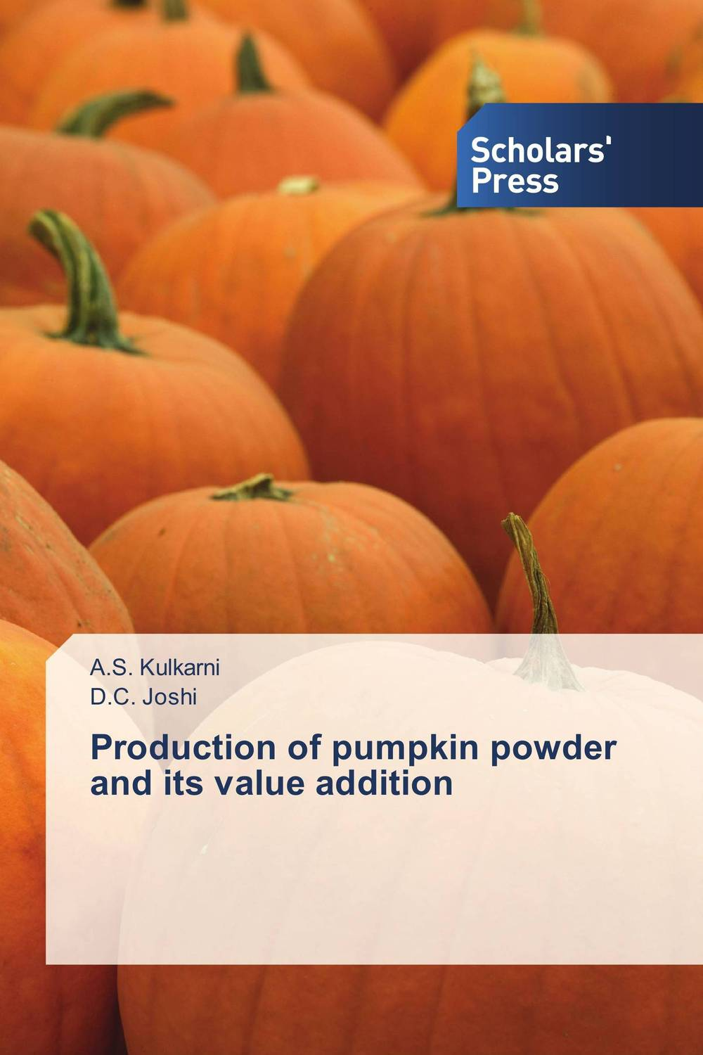 Production of pumpkin powder and its value addition adding value to the citrus pulp by enzyme biotechnology production