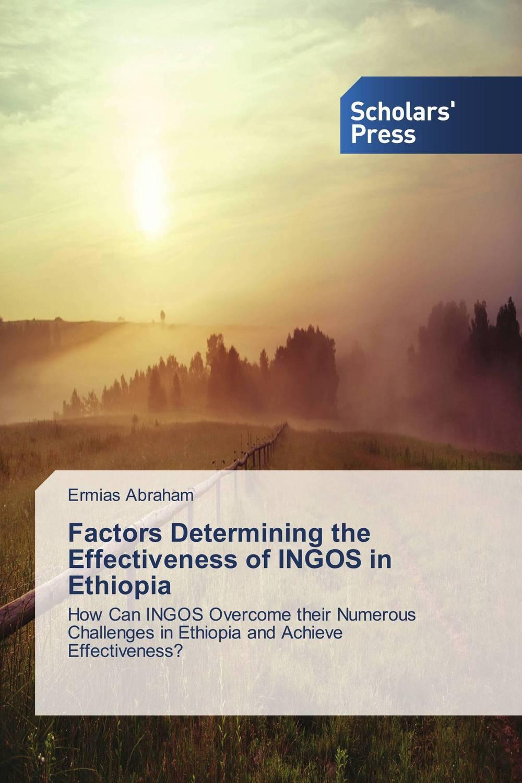 Factors Determining the Effectiveness of INGOS in Ethiopia governance and development roles of community radio in ethiopia
