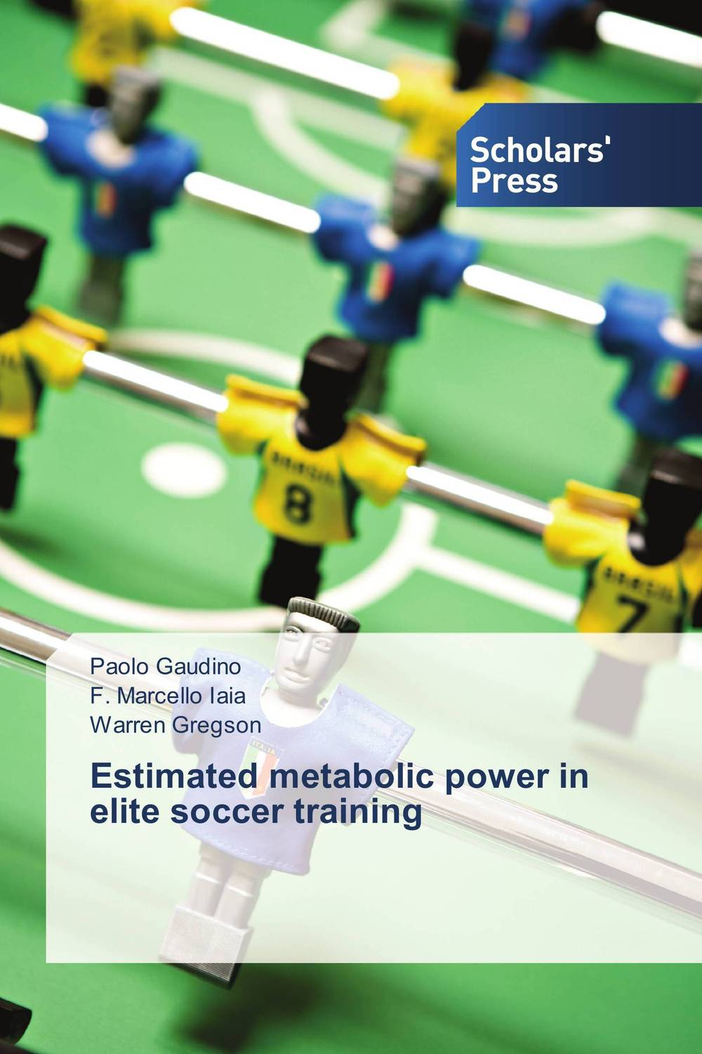 Estimated metabolic power in elite soccer training