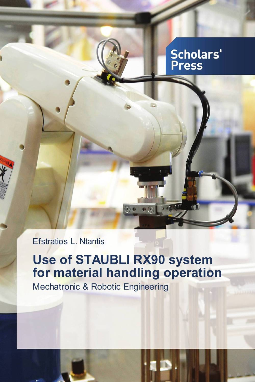 Use of STAUBLI RX90 system for material handling operation