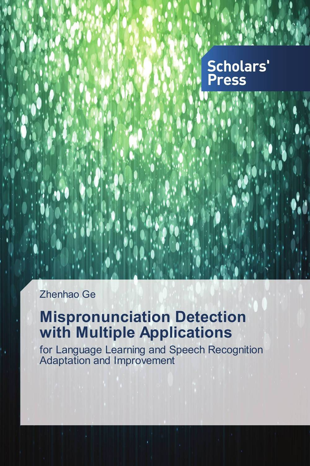 Mispronunciation Detection with Multiple Applications high quantity medicine detection type blood and marrow test slides