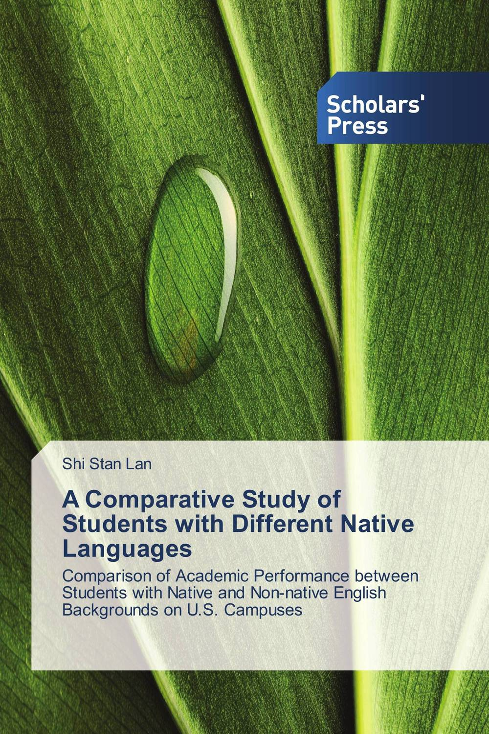цена на A Comparative Study of Students with Different Native Languages