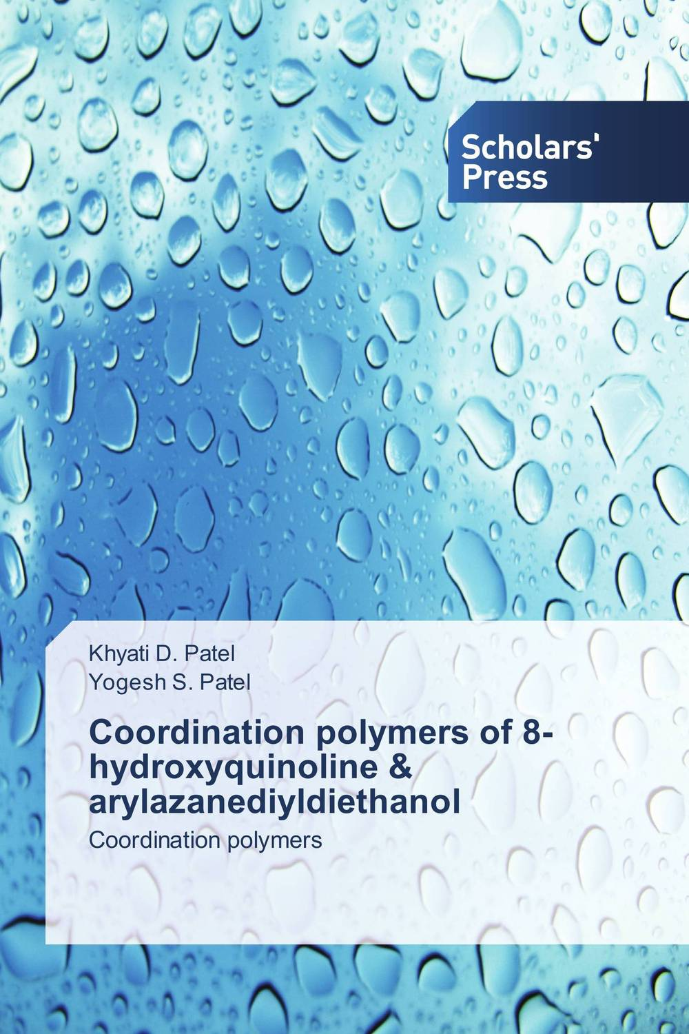Coordination polymers of 8-hydroxyquinoline & arylazanediyldiethanol csp as a coordination language