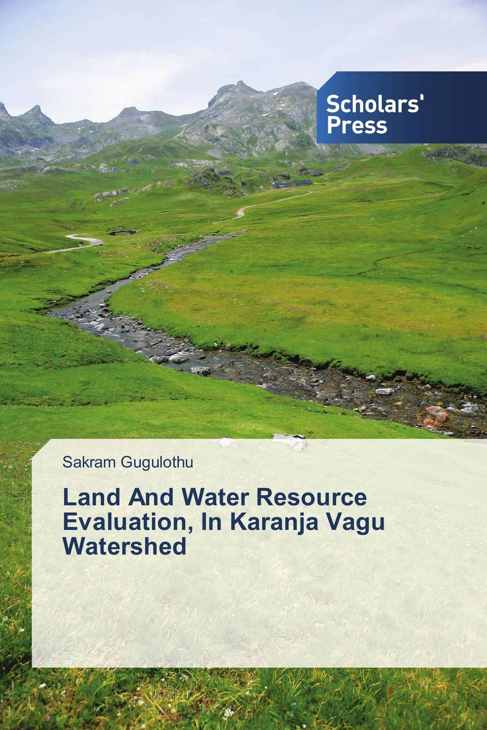 Land And Water Resource Evaluation, In Karanja Vagu Watershed bride of the water god v 3