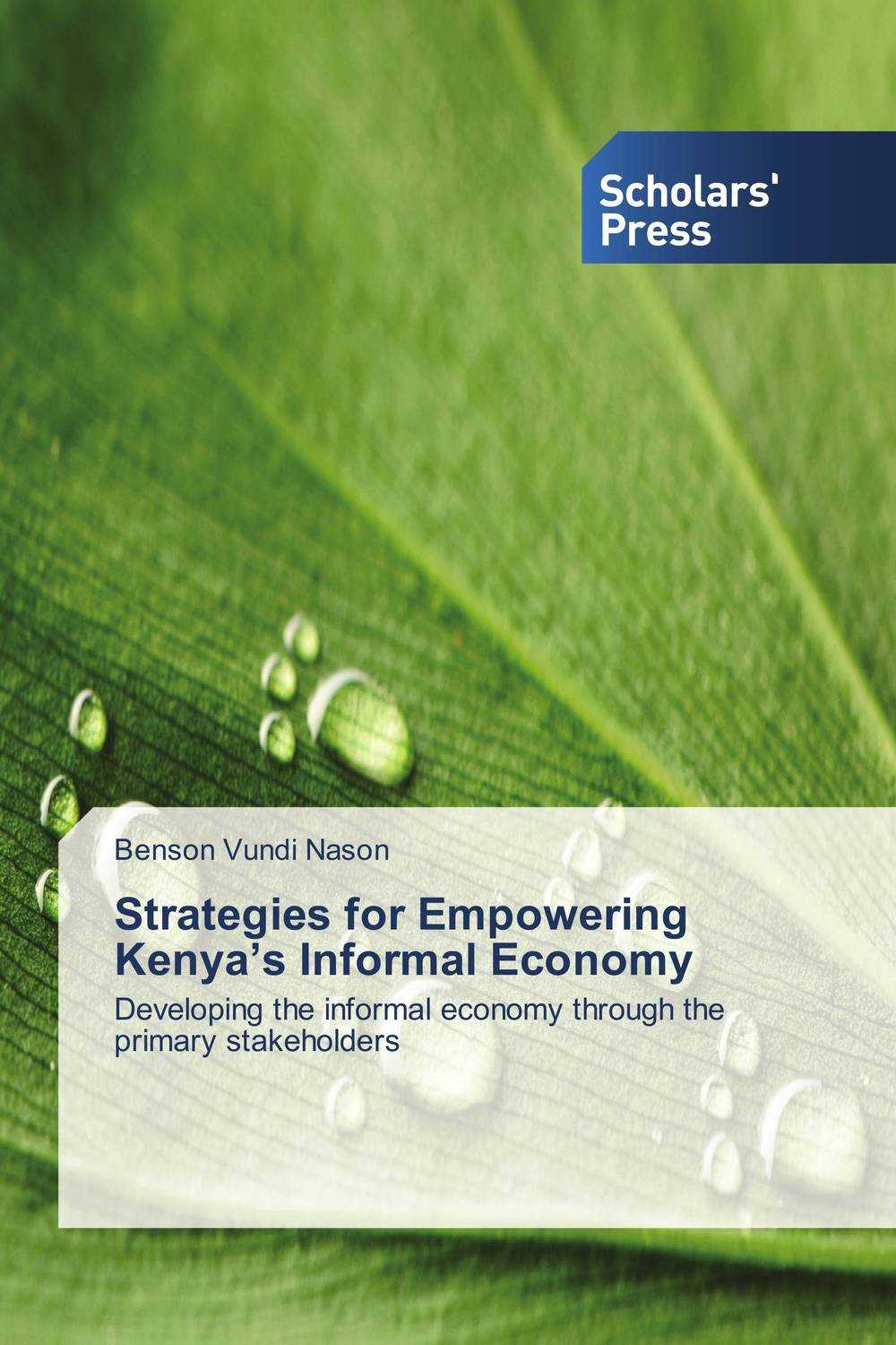 Strategies for Empowering Kenya's Informal Economy johan coetsee change lessons from the ceo real people real change