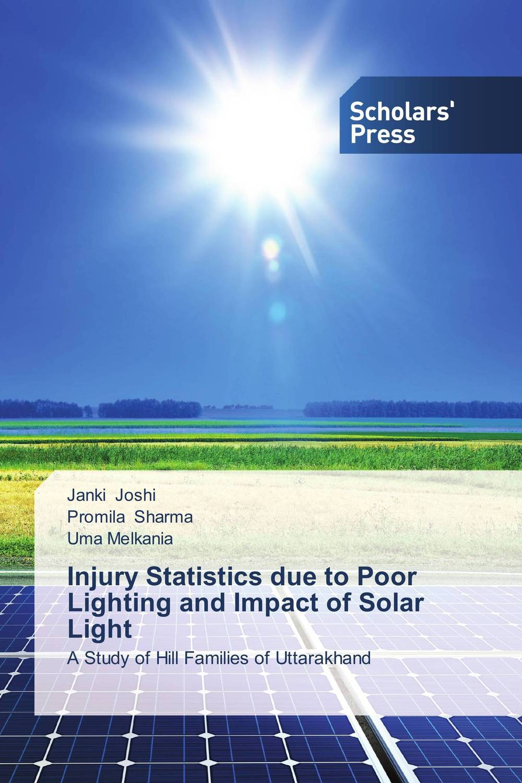 Injury Statistics due to Poor Lighting and Impact of Solar Light lighting people