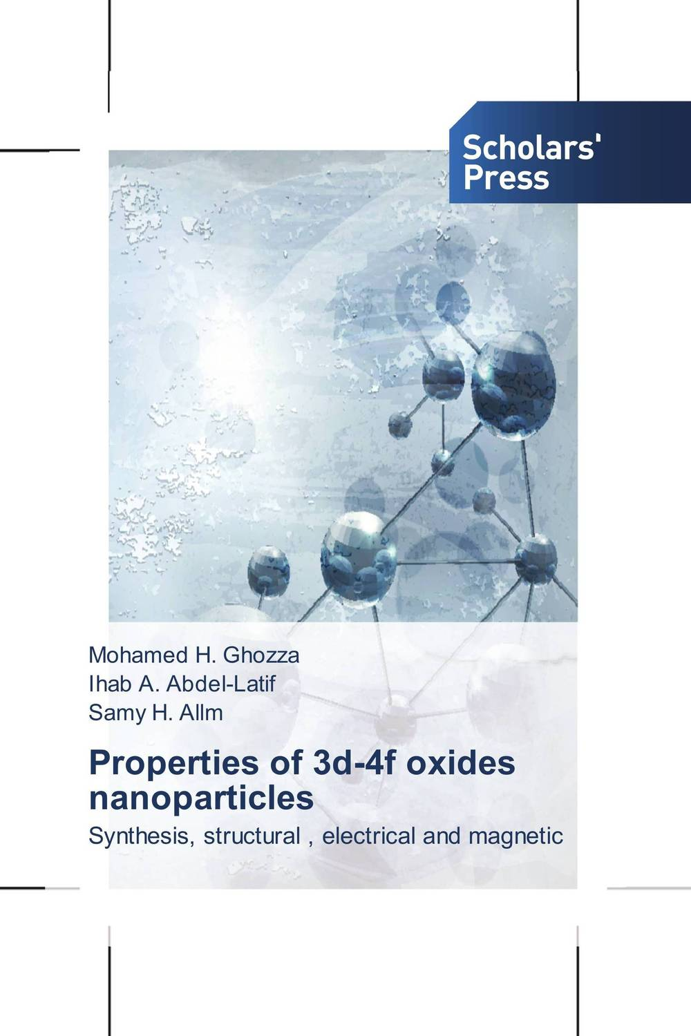 Properties of 3d-4f oxides nanoparticles d beskrovniy chemistry technology and properties of synthetic rubber