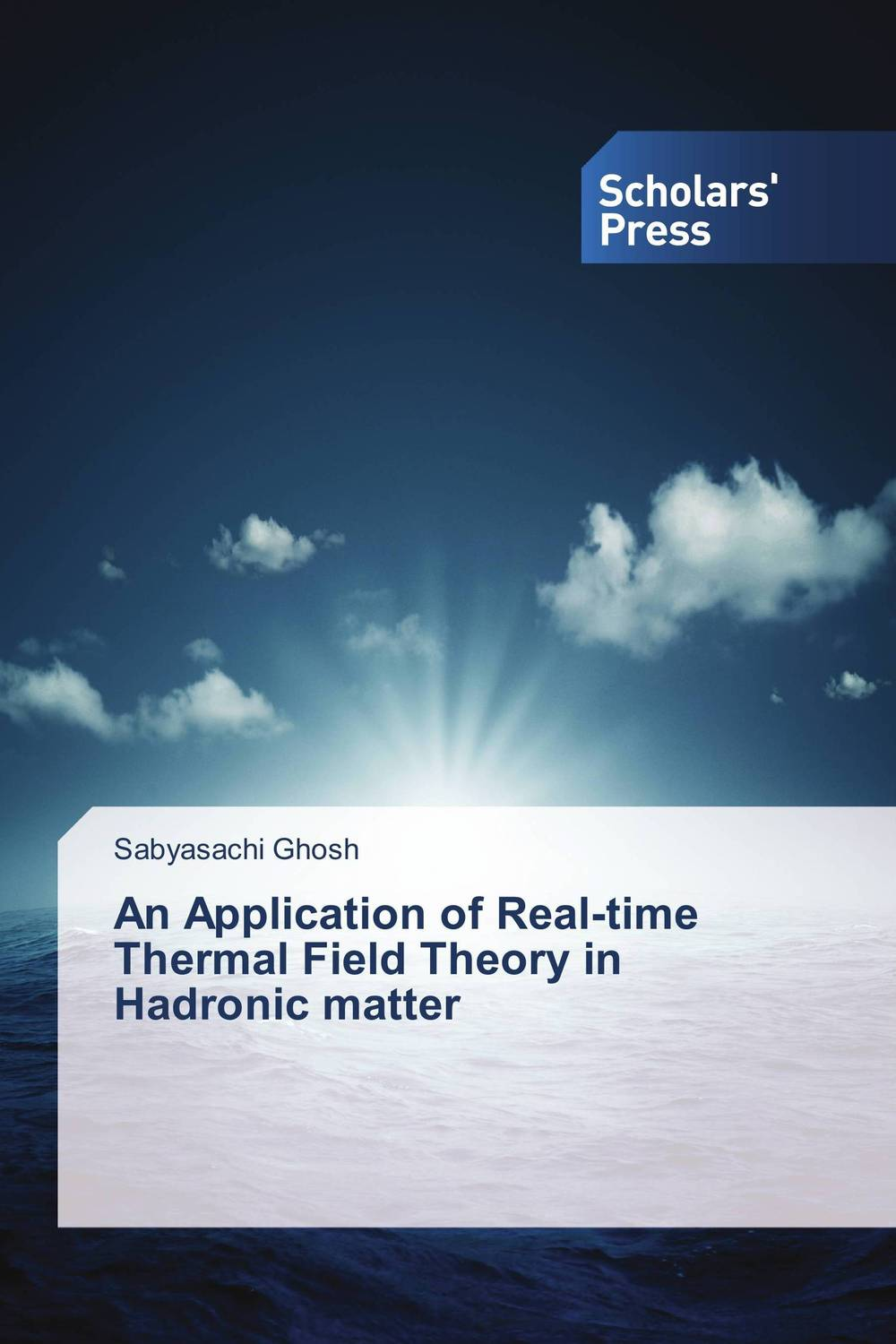 An Application of Real-time Thermal Field Theory in Hadronic matter kenneth rosen d investing in income properties the big six formula for achieving wealth in real estate