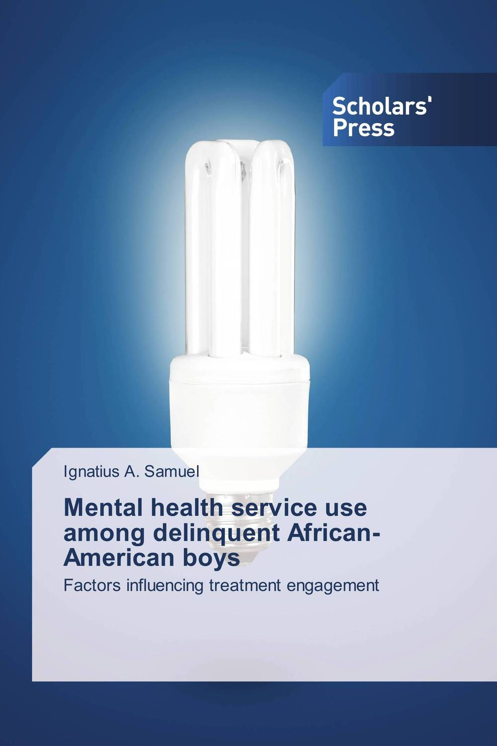 Mental Health Service Use Among Delinquent African-American Boys folk media and cultural values among the igala