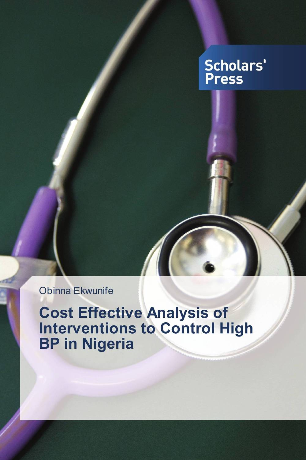 Cost Effective Analysis of Interventions to Control High BP in Nigeria driven to distraction