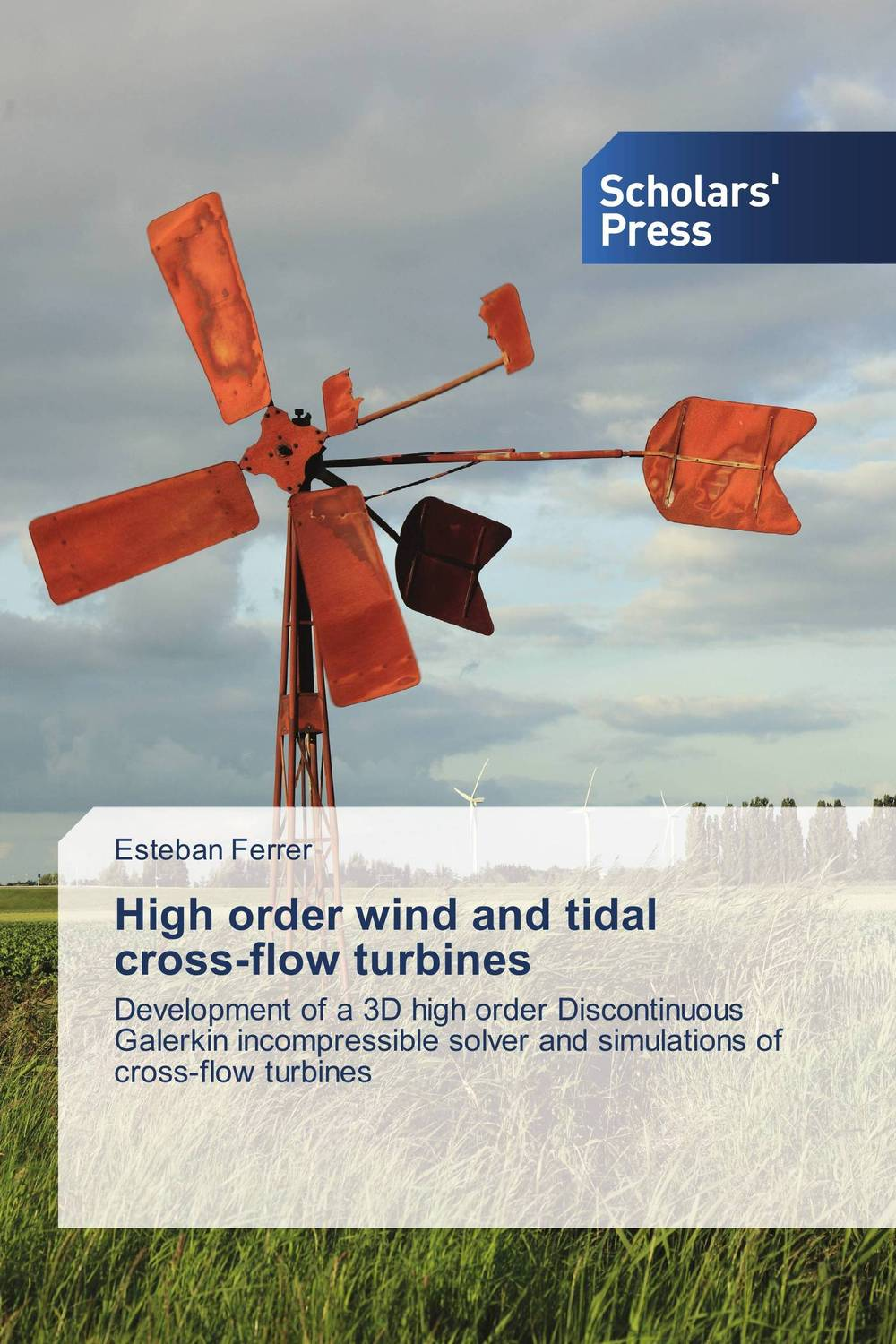 High order wind and tidal cross-flow turbines fiber motion in turbulent flow