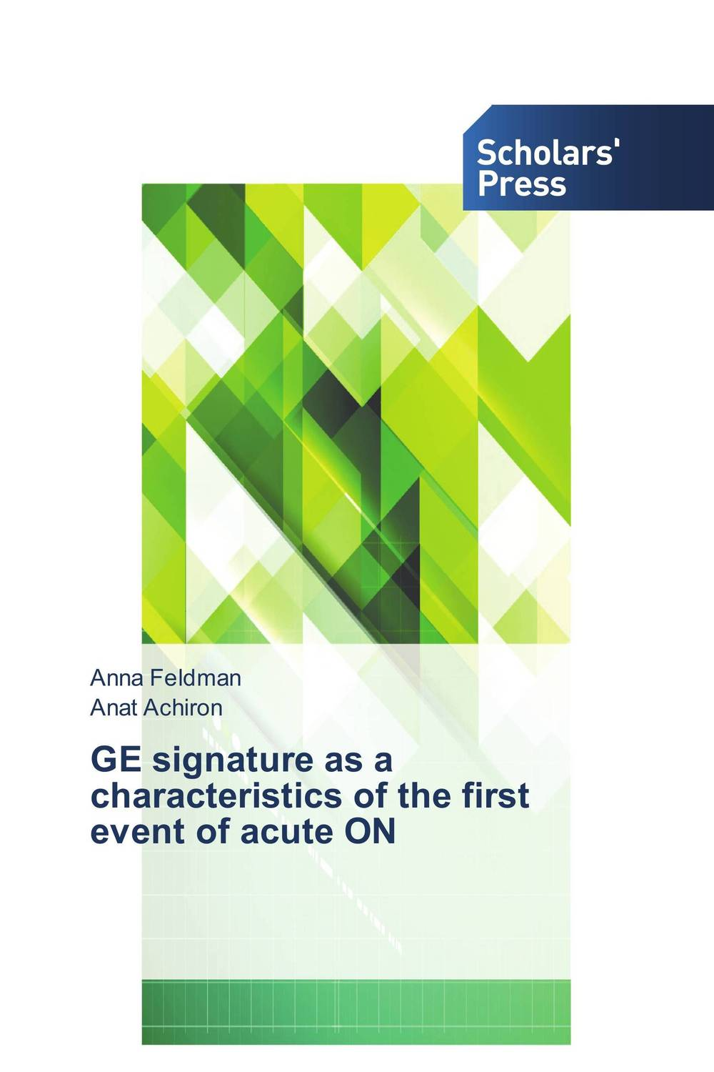 GE signature as a characteristics of the first event of acute ON