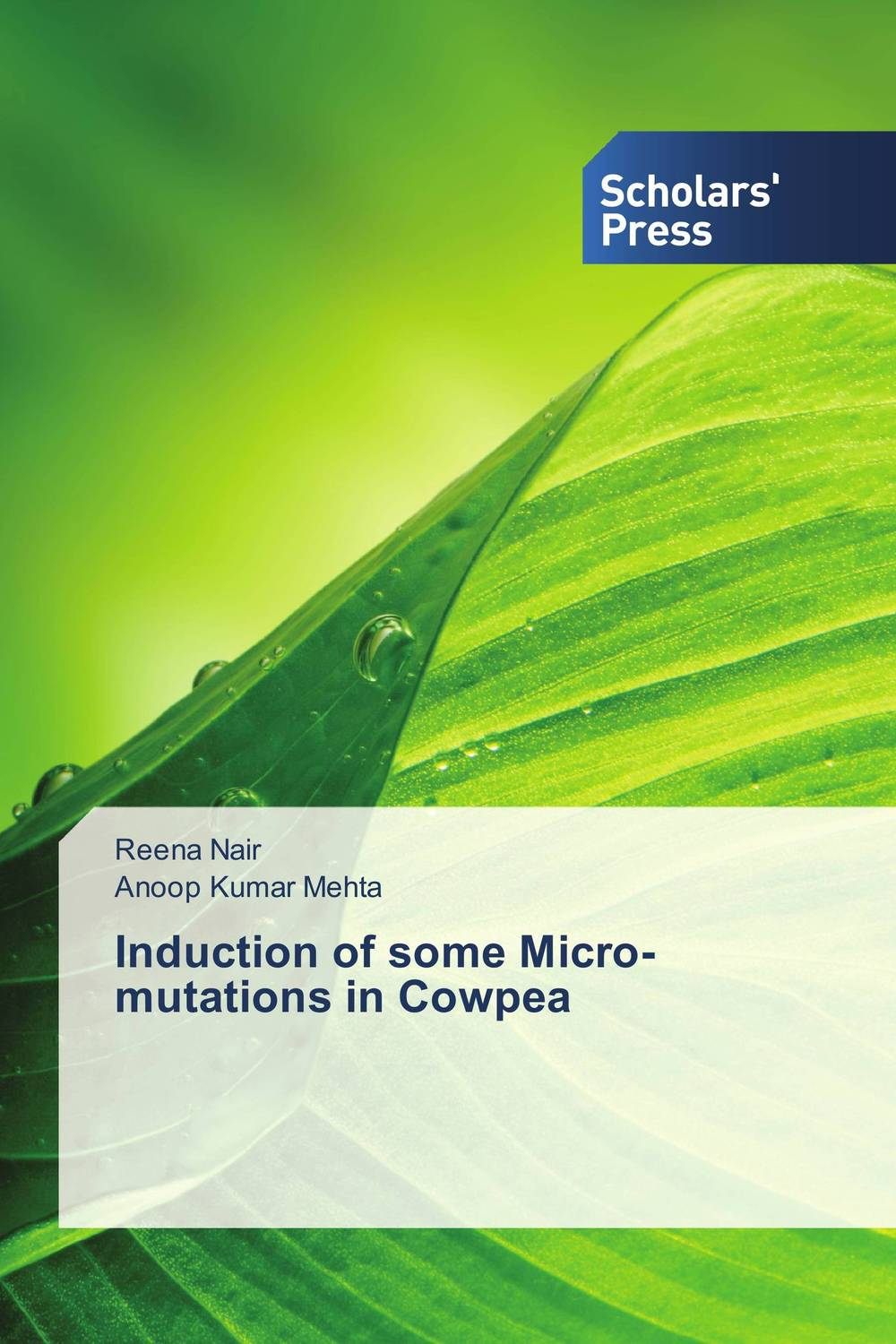Induction of some Micro-mutations in Cowpea bottlegourd breeding