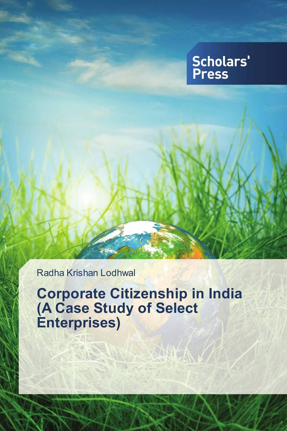 Corporate Citizenship in India (A Case Study of Select Enterprises) srichander ramaswamy managing credit risk in corporate bond portfolios a practitioner s guide