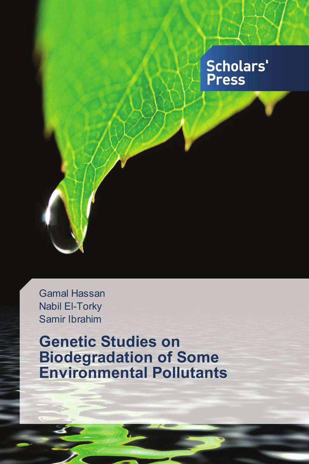 Genetic Studies on Biodegradation of Some Environmental Pollutants eman ibrahim el sayed abdel wahab molecular genetic characterization studies of some soybean cultivars